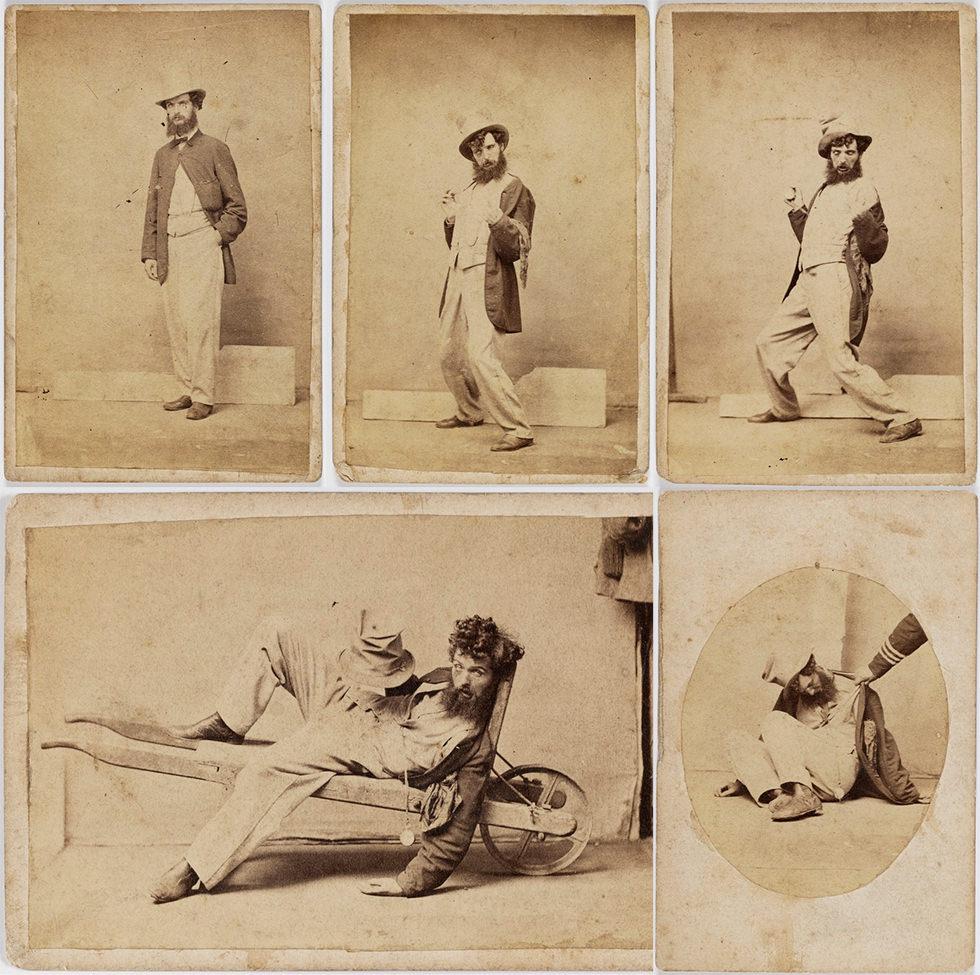 Los cinco estados de la embriaguez (1868)