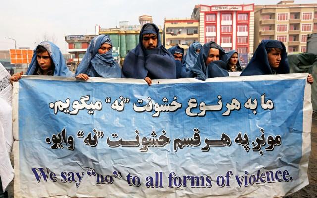 Afganos contra la opresión machista