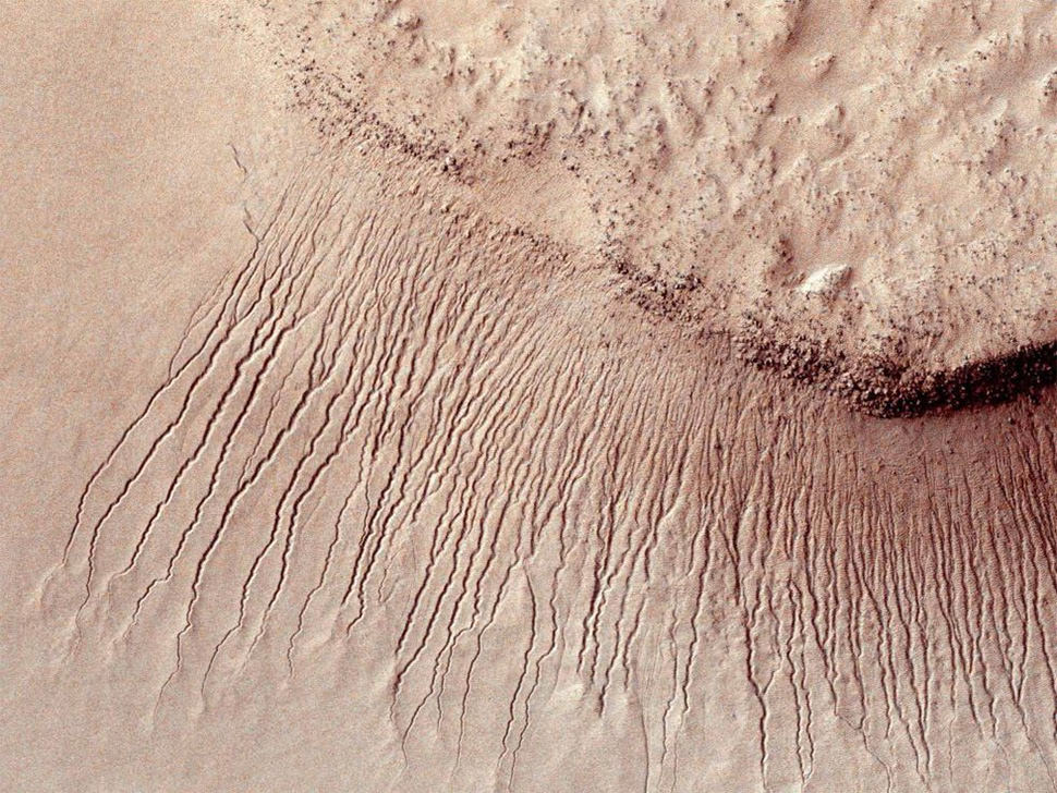 Marte no es planeta seco