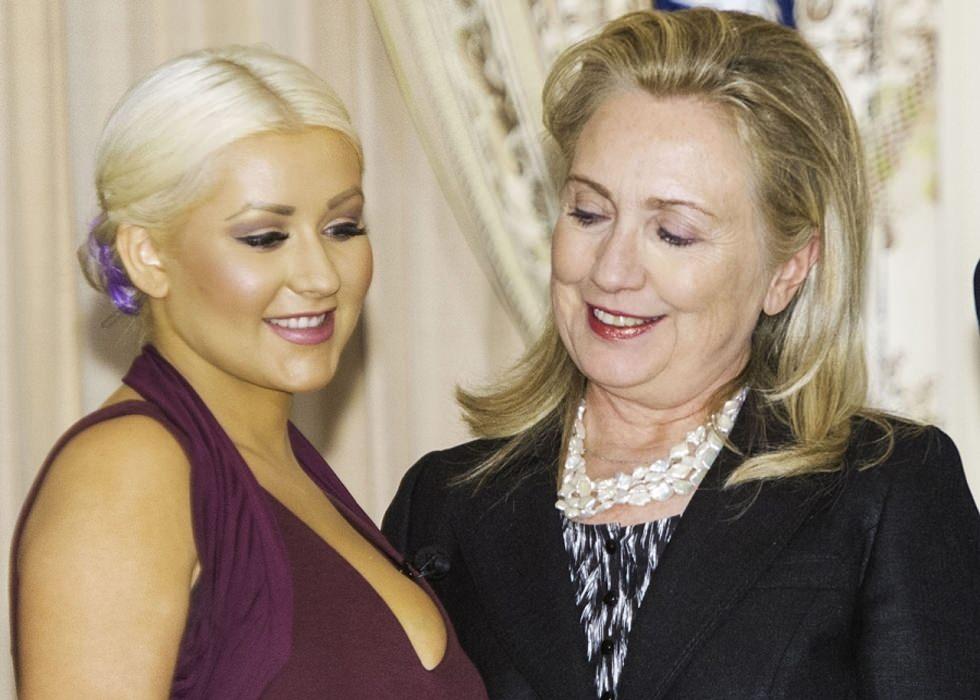 A Hillary Clinton le gustan las tetas