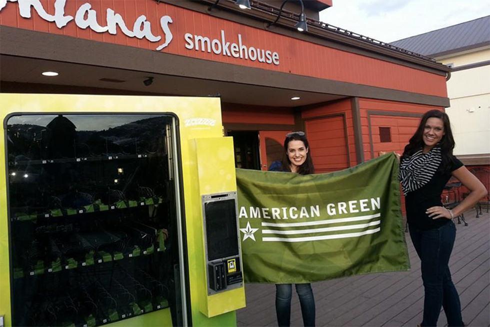 Llega la máquina expendedora de marihuana