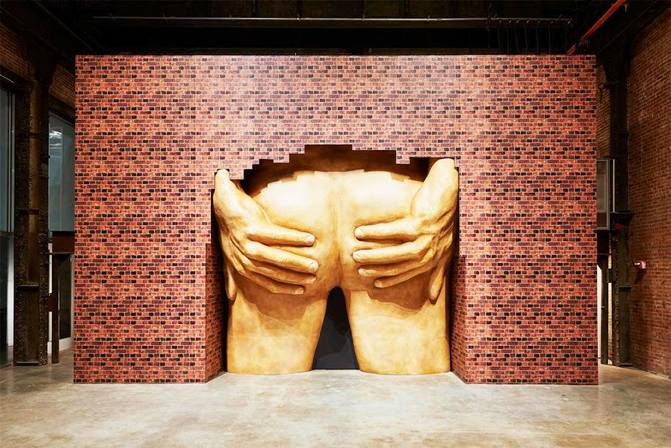 El gran culo del arte moderno