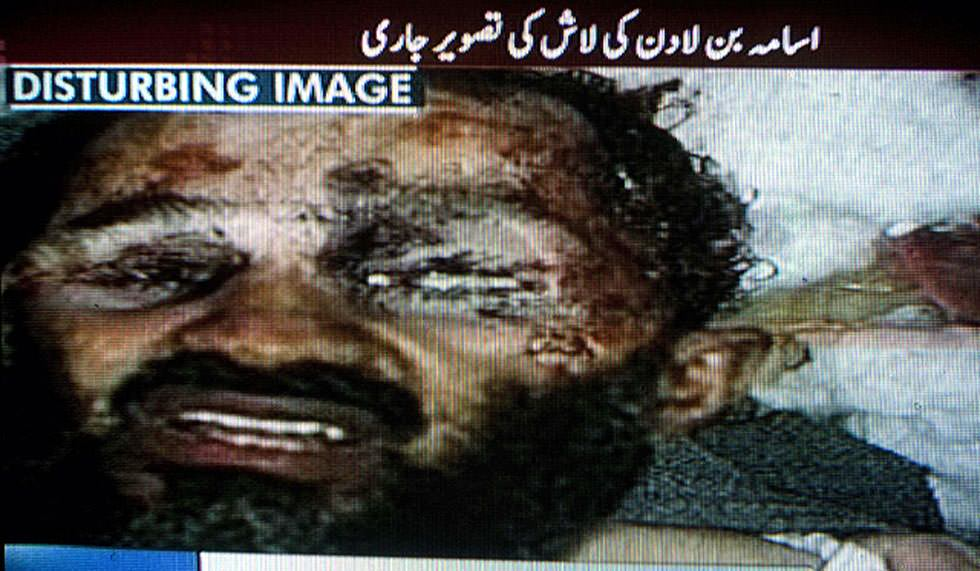 La primera foto de Osama Bin Laden muerto