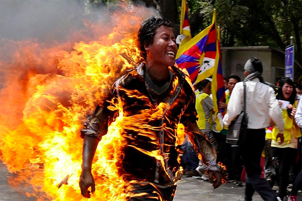Tíbet, del exilio a las llamas