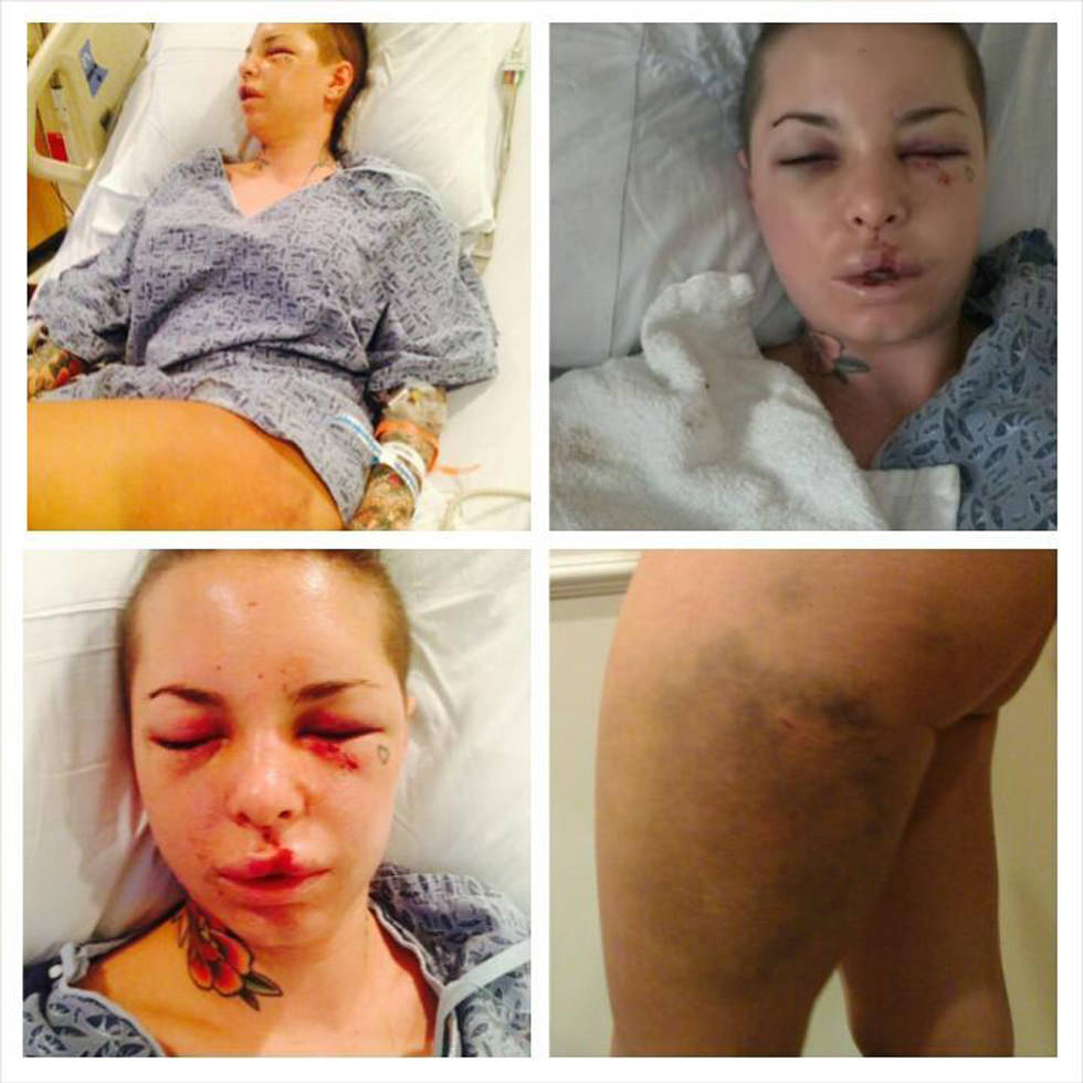 Christy Mack relata la paliza de War Machine