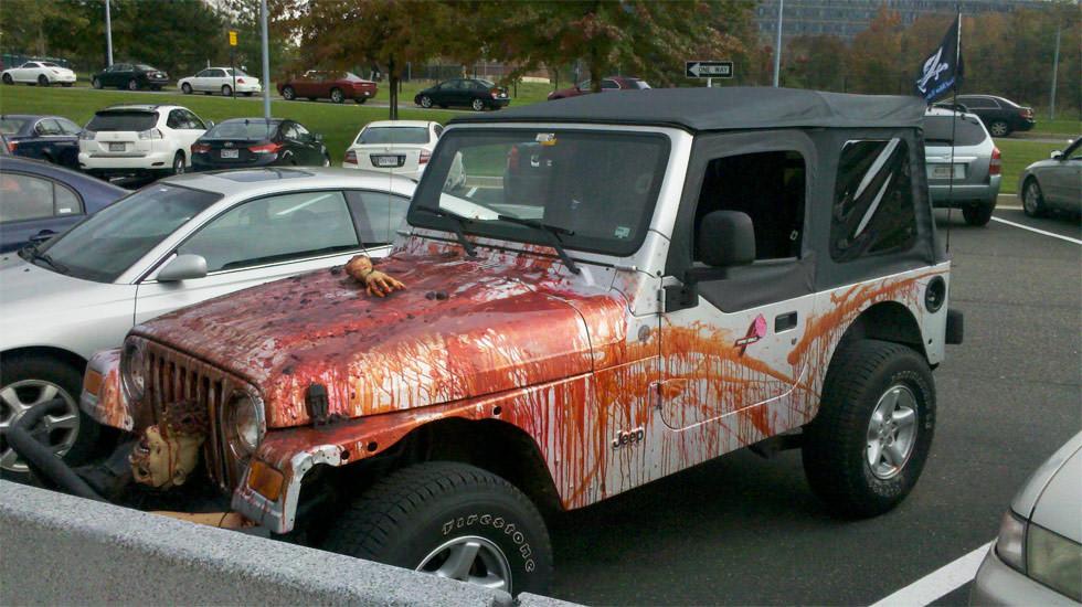 Halloween: Terror en el aparcamiento
