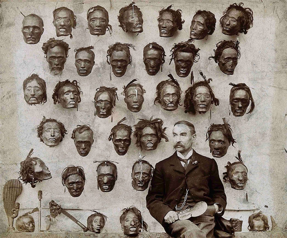 El coleccionista de cabezas