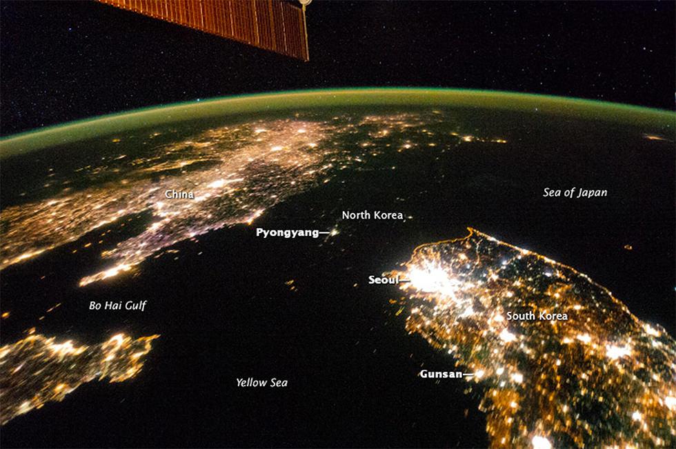Un agujero negro en Asia