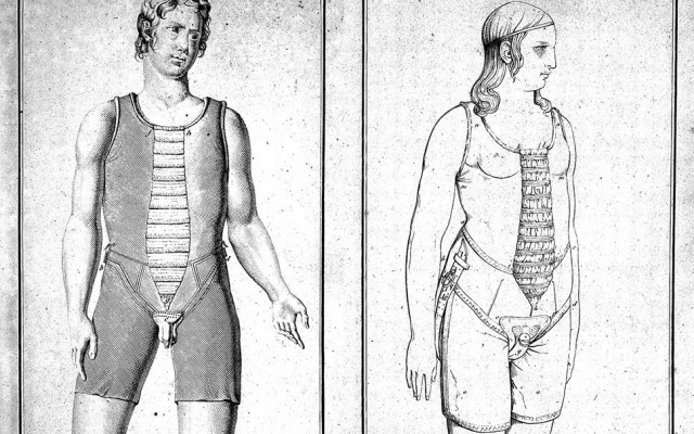 Corsé contra la masturbación (1822)