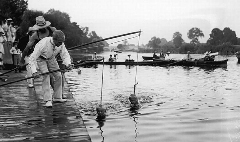 Curso de natación (1913)
