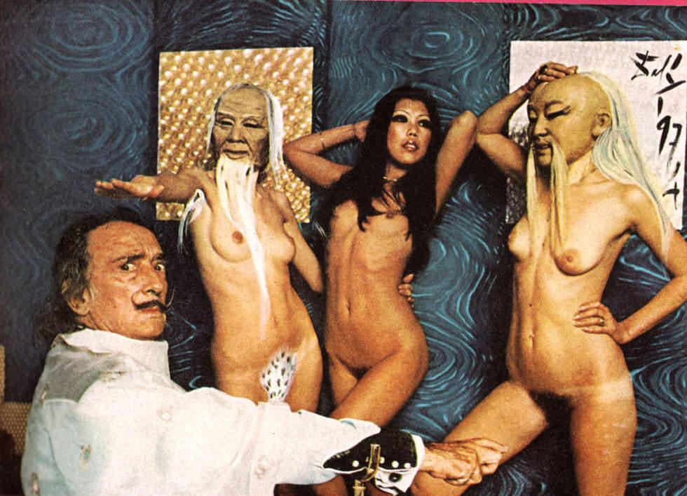 Salvador Dalí en Playboy (1973)