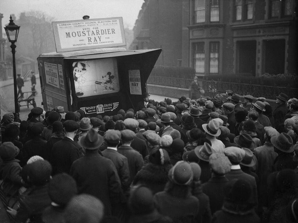 Mickey Mouse en campaña electoral (1931)