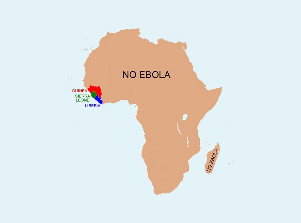 Ébola en África
