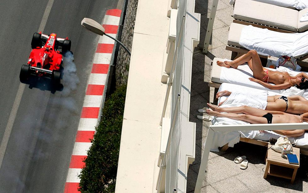 Mónaco, el circuito con más curvas