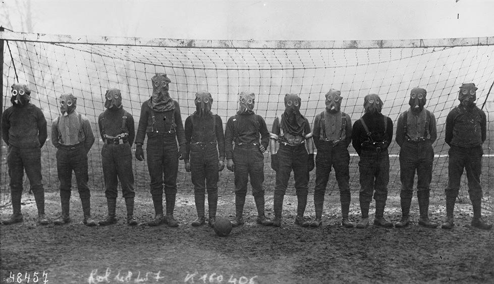 El fútbol es la guerra