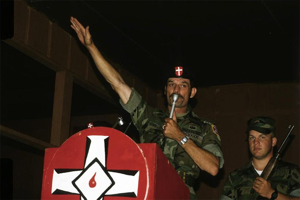El líder del Ku Klux Klan prefiere a los negrazos