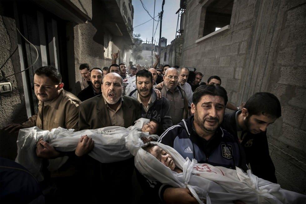 La tragedia palestina