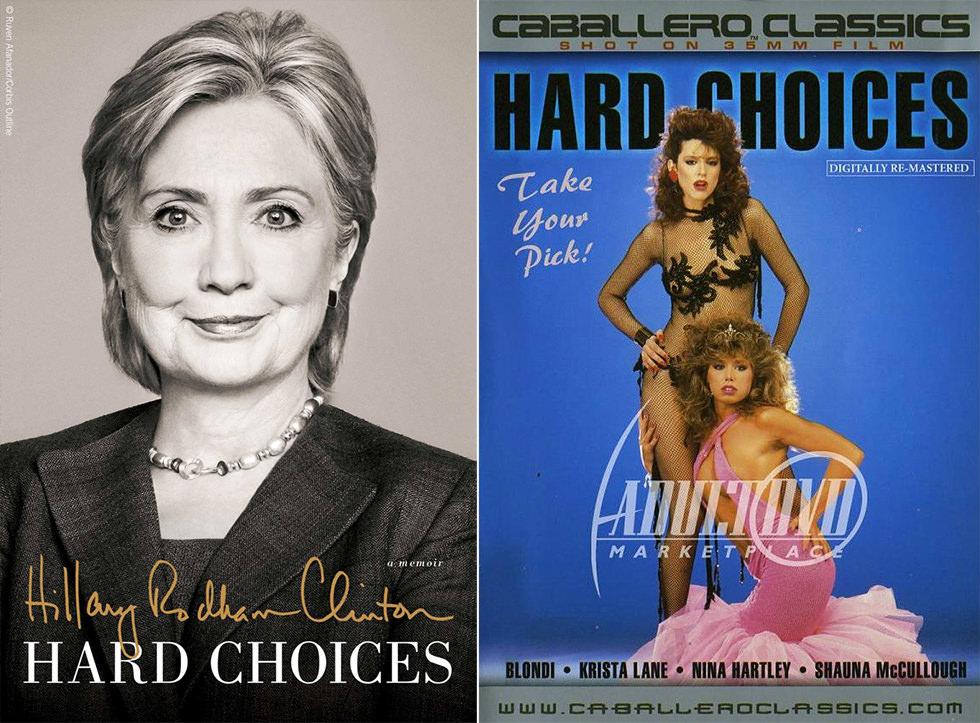 Hillary Clinton y el porno ochentero