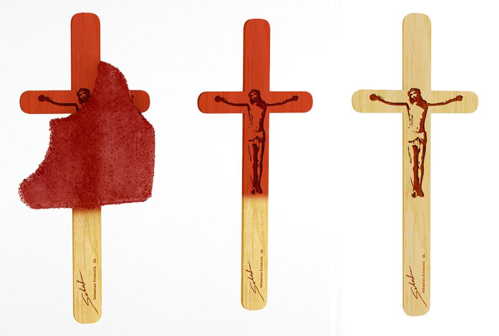 Crucifixión, el helado perfecto para el verano