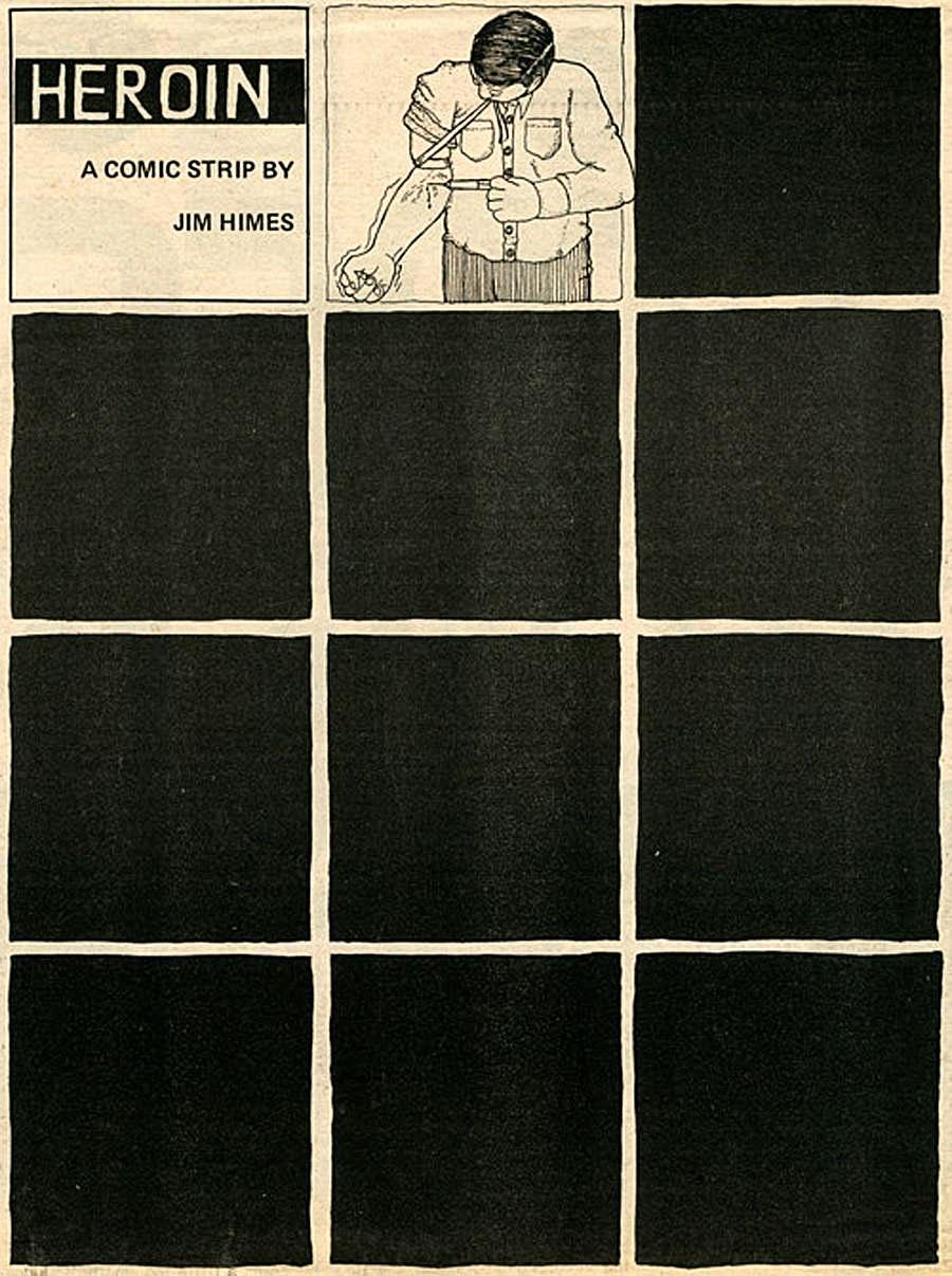 Heroína, una tira cómica