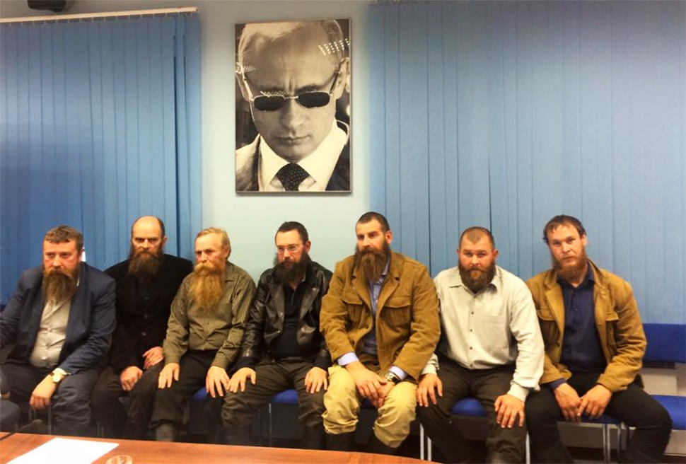 Putin, hipsters y patriarcas rusos