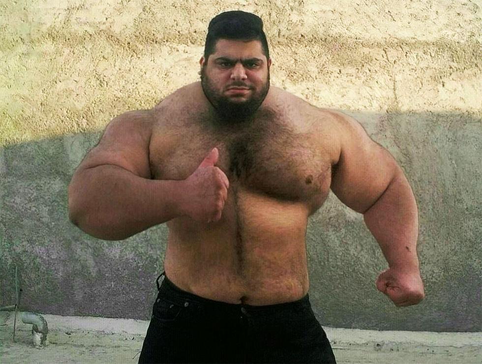 El Hulk persa se une a la lucha contra el ISIS