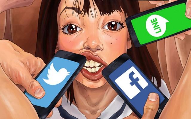 iPhonekkake: Misión social en tu boca