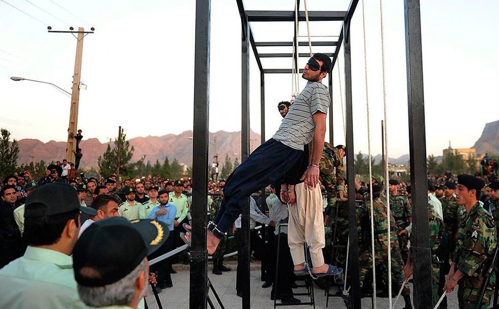 Irán, paraíso de verdugos