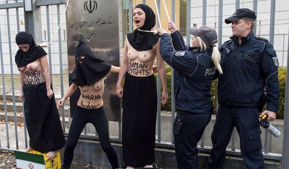 FEMEN contra la Sharia
