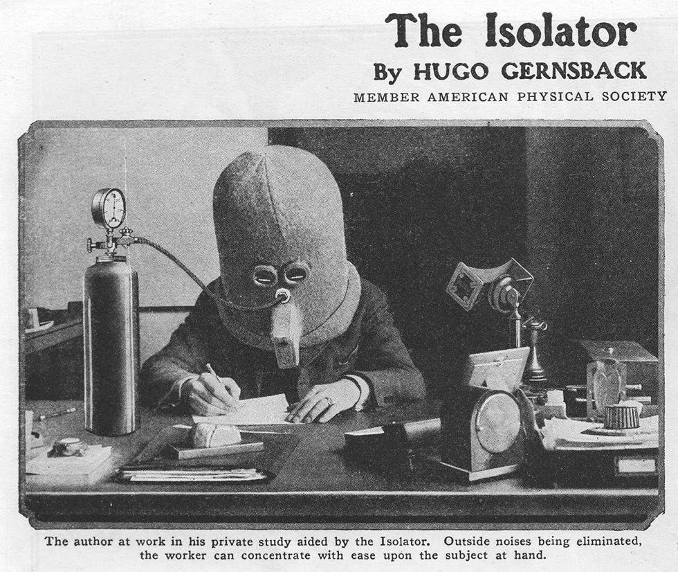 Isolator, concentración total