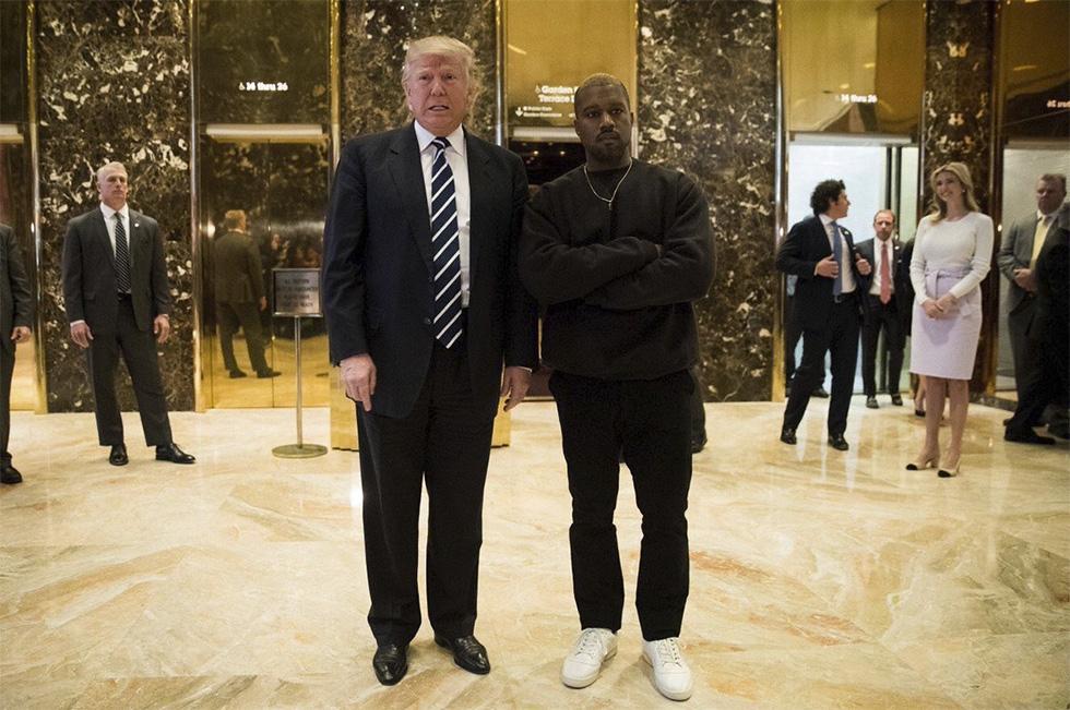 Cumbre mundial: Kanye West se reúne con Donald Trump
