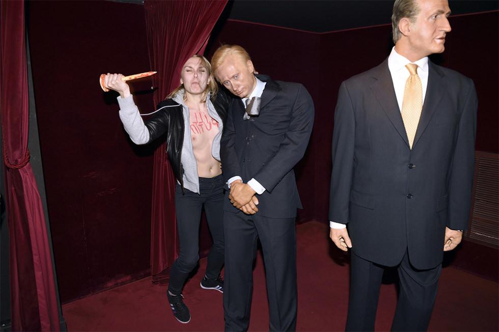 Femen da muerte a Vladímir Putin