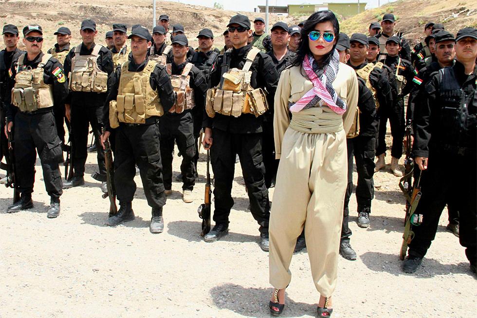 Diva en zona de guerra