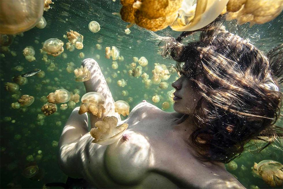 La chica del lago de las medusas