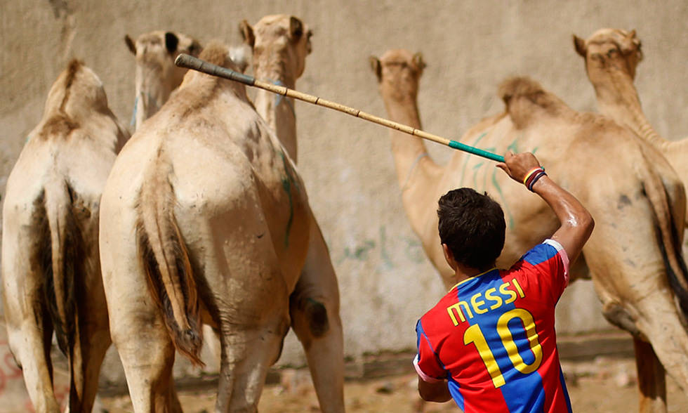 Messi es mi pastor, nada me falta