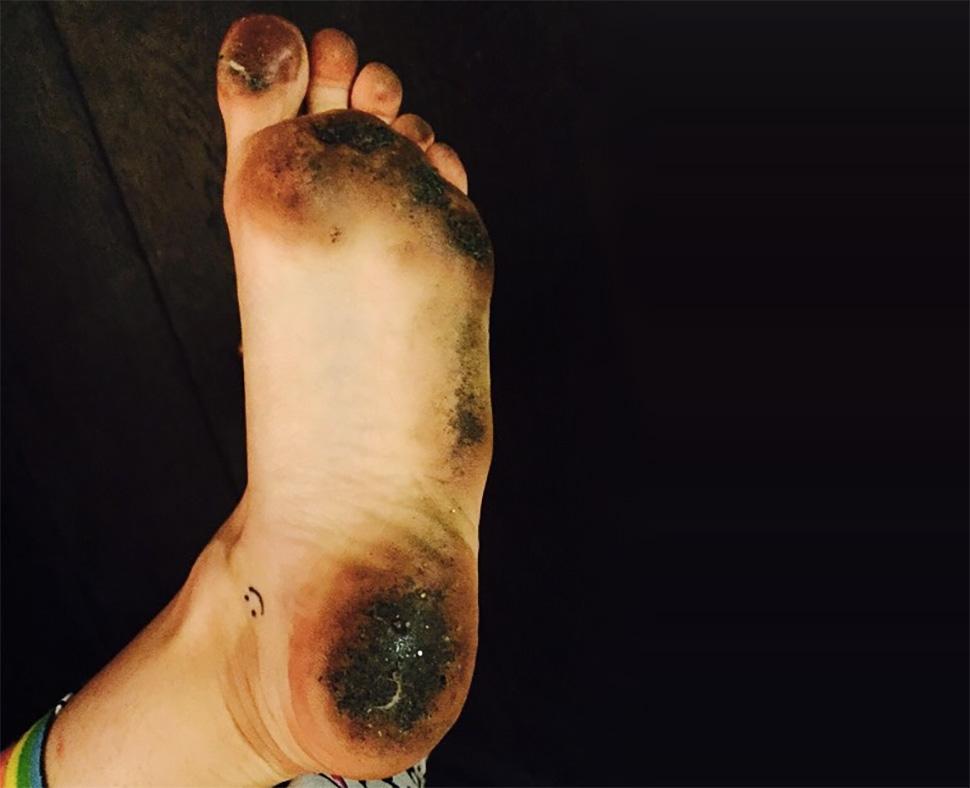 A los pies de Miley Cyrus