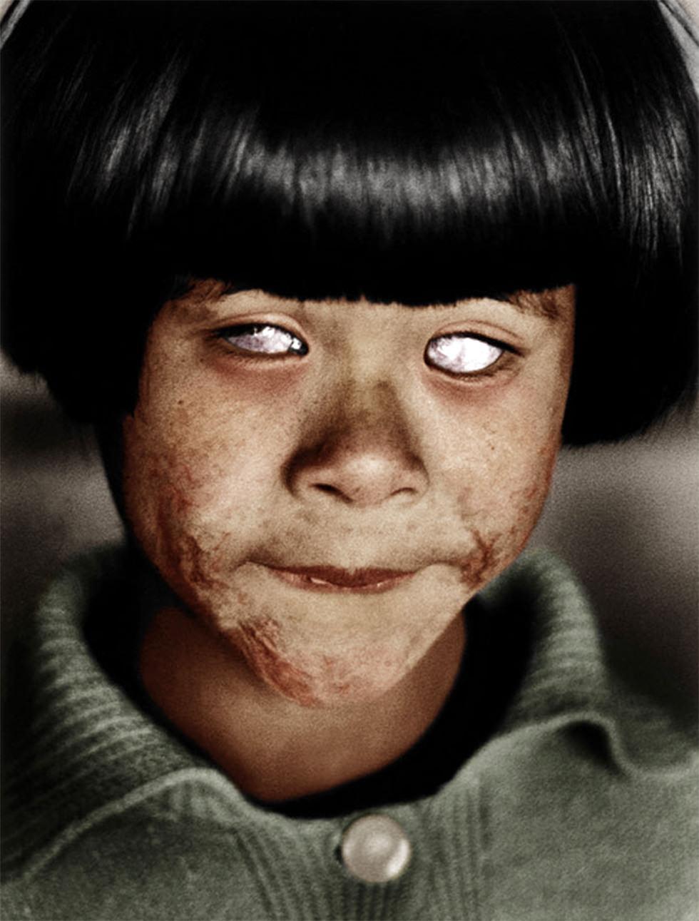 Los ojos que vieron el infierno