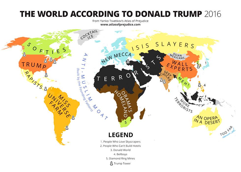 El mundo según Donald Trump