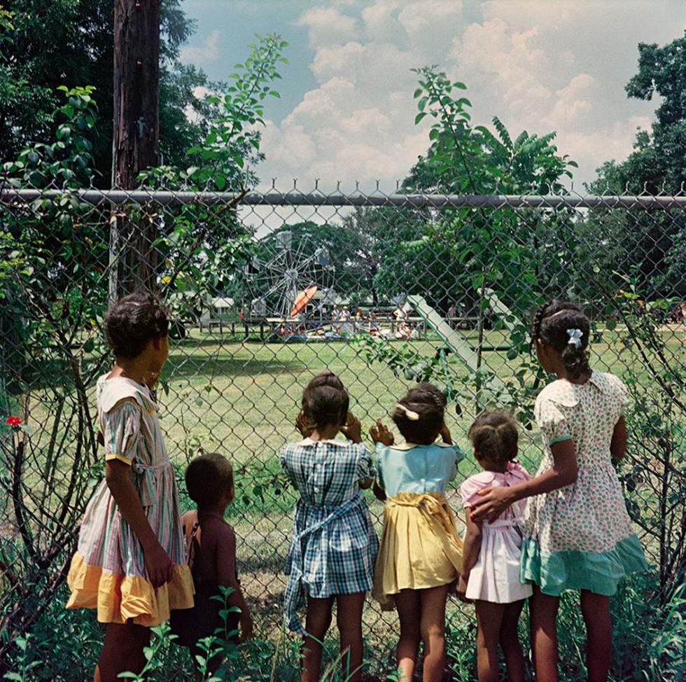 El parque para blancos