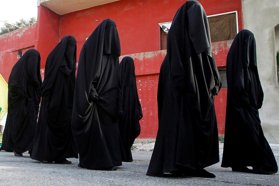 Dos maneras de ver el burka