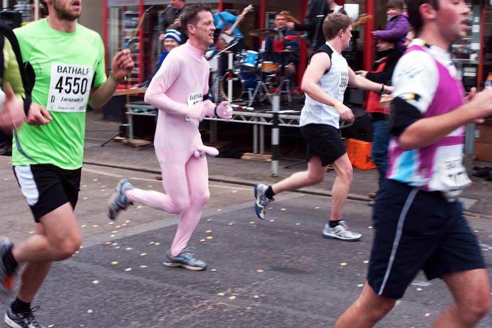 La maratón de la Pantera Rosa