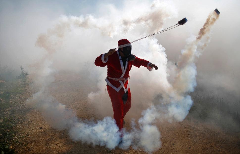 El Papá Noel palestino