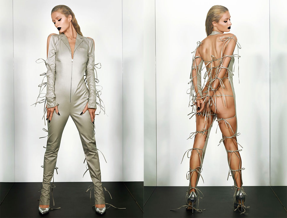 El culo de Paris Hilton es portada en PAPER