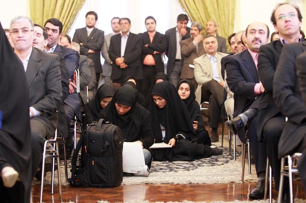 Ser mujer y periodista en Irán