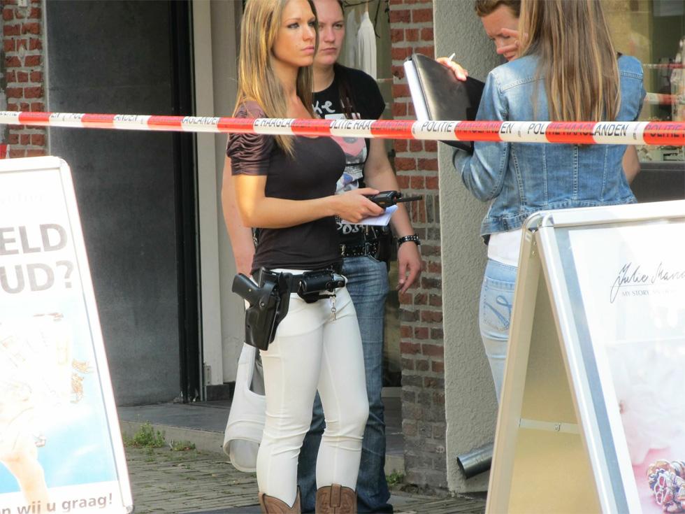 La gran eficiencia de la policia holandesa