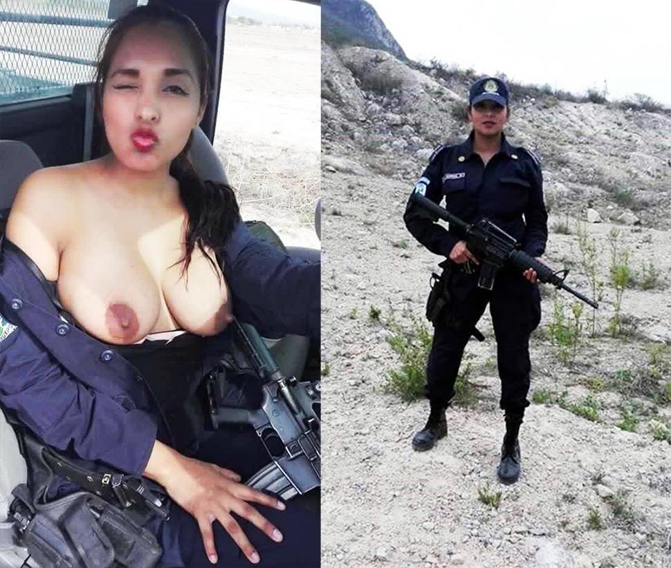 El otro armamento de la policia mexicana