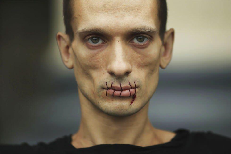 La protesta silenciosa de Piotr Pavlensky