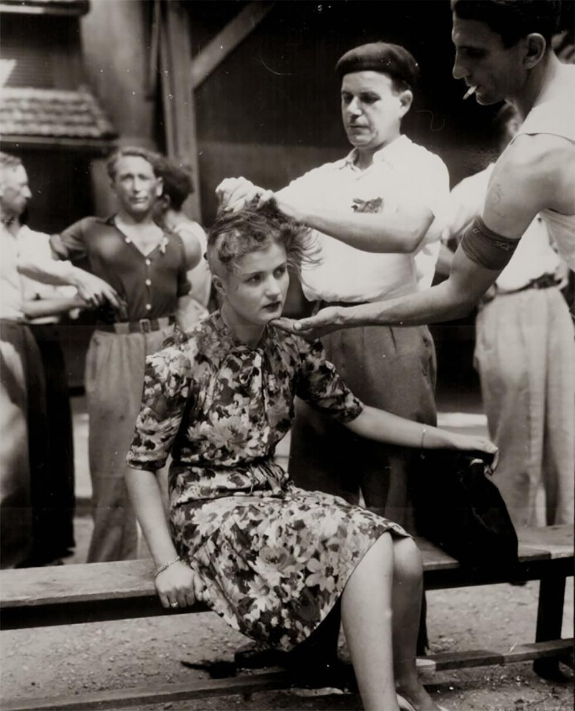 """La humillación """"skinhead"""" (1944)"""