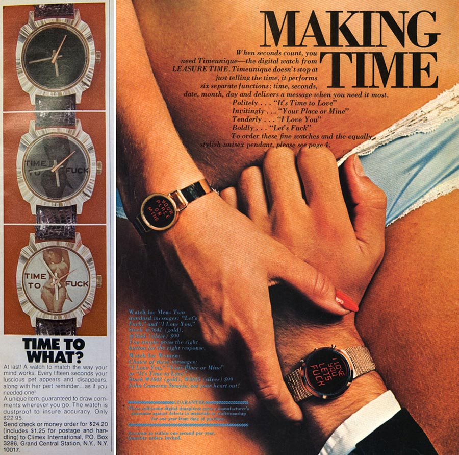 Publicidad efectiva en los años 70