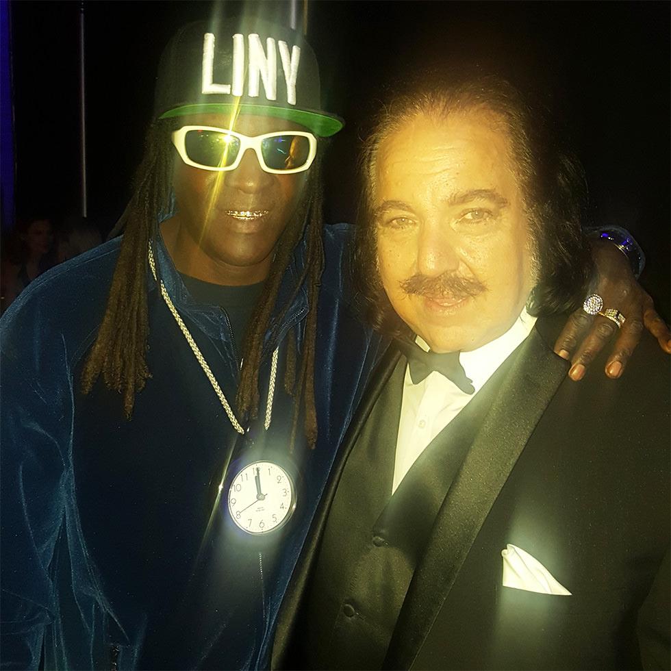 Dos leyendas del porno y el hiphop